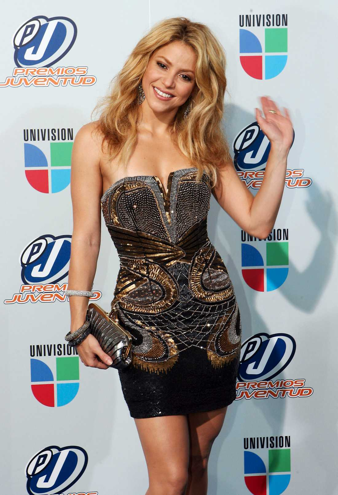 7. Shakira 9,1 miljoner