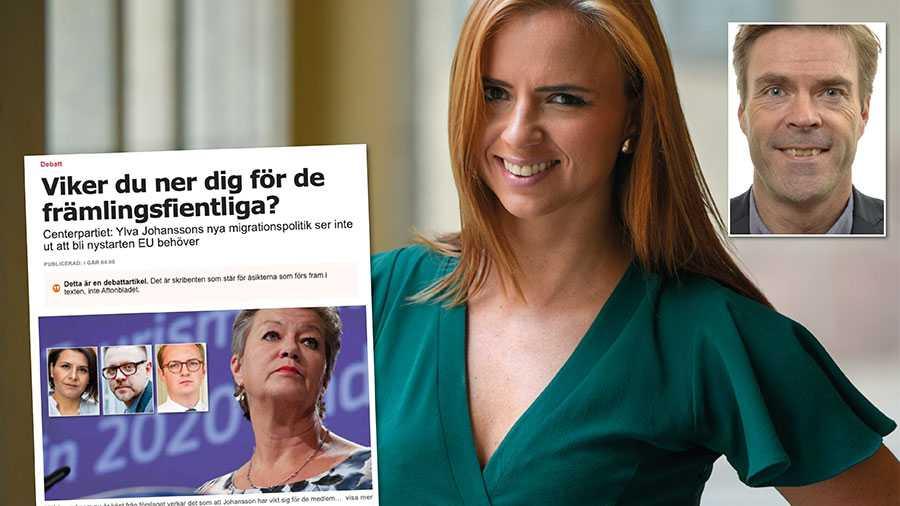 Vad Centerpartiet nu gör är att stenhårt surra fast sig vid specifika metoder i stället för att lyfta blicken. Och det är just den inställningen som fått tidigare fått hela den europeiska migrationspolitiken att låsa sig, skriver Hans Eklind och Sara Skyttedal.