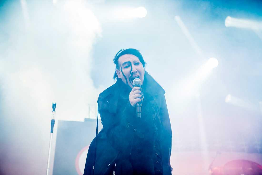 Marilyn Manson på Gröna Lund.