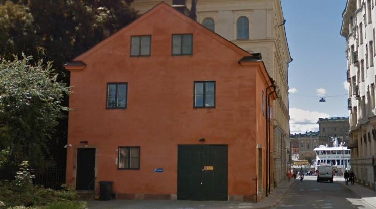 Huset på Blasieholmen.