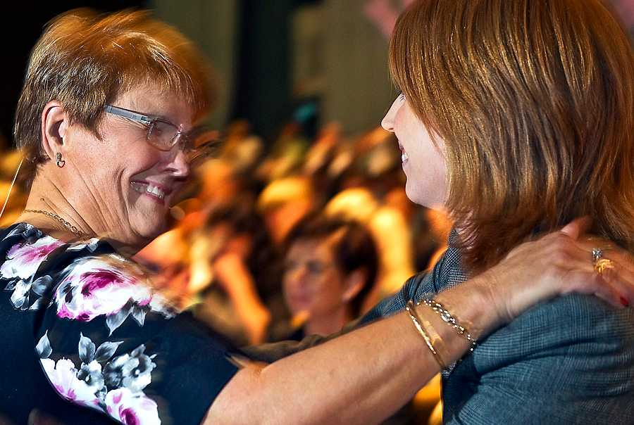 Lämnar över facklan Maud Olofsson påbörjade den omvandling av Centerpartiet till ett mer stadsorienterat parti som Annie Lööf förväntas fortsätta.