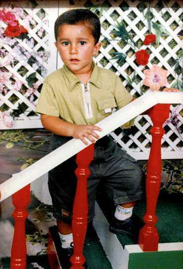 Mohammed Ammouri, 8, var på väg till skolan när han blev knivmannens andra offer.
