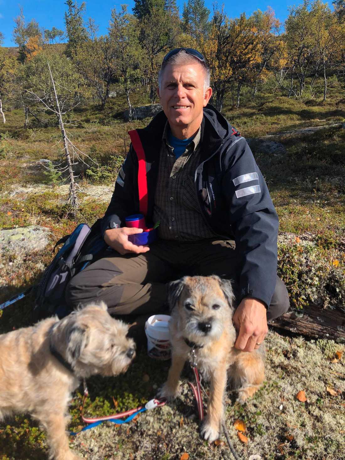 Göran Tolvers blev berörd när han såg Mikaels efterlysning.
