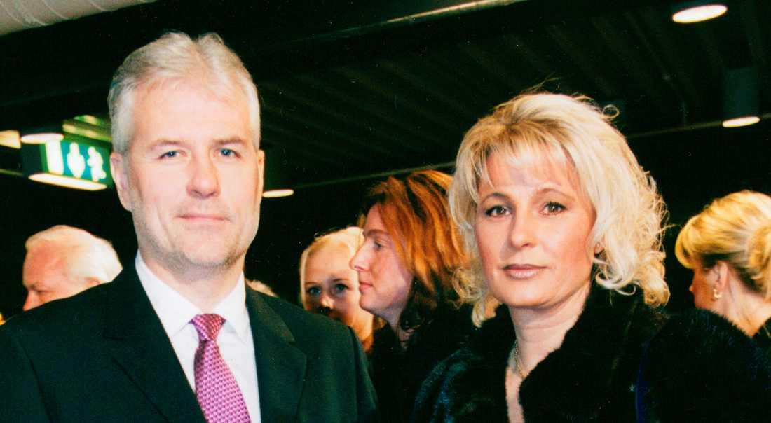 Glenn och Helena år 2001.