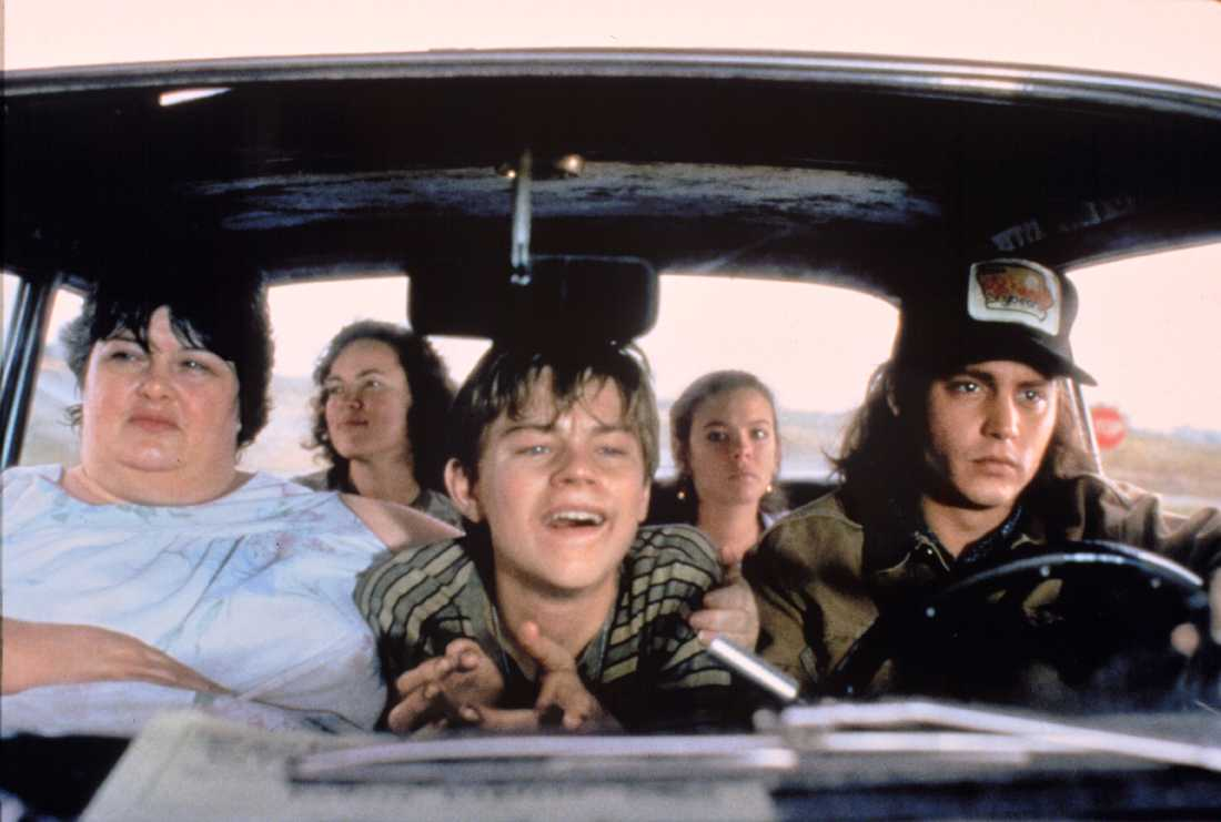 "För rollen i ""Gilbert Grape"" hyllades DiCaprio – men han förlorade mot Tommy Lee Jones i ""The fugitive"" under Oscarsgalan 1994."