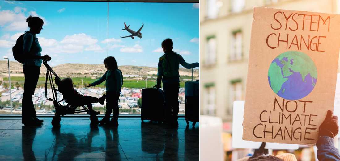 När människor vill fortsätta resa gäller det att resebolagen blir mer miljövänliga.