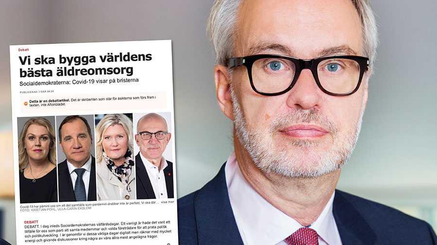 Ge cheferna rimliga organisatoriska förutsättning som rimmar med uppdraget. Bara så kan Sverigefåvärldens bästa äldreomsorg, skriver Andreas Miller.