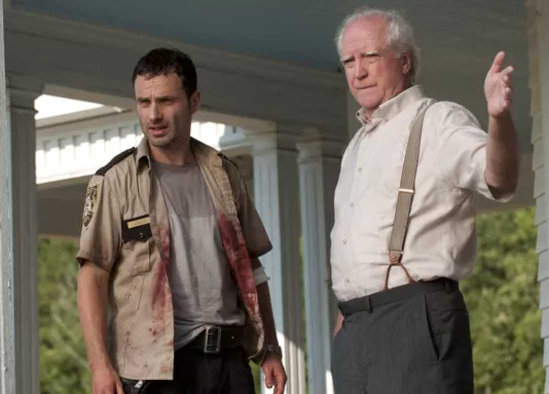 "Scott Wilson spelade Hershel i ""The Walking Dead""."