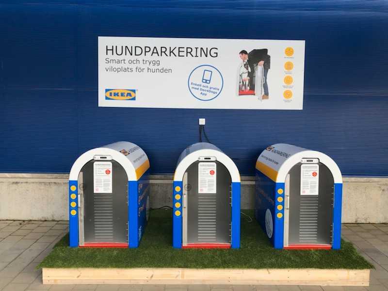 Ikea Borlänge är det första Ikea-varuhuset i Sverige med hundparkering.