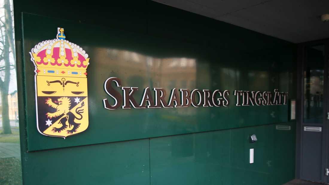 Rättegången mot den 29-årige mannen inleds om två veckor och kommer att pågå till i mitten av november i Skaraborgs tingsrätt. Arkivbild.