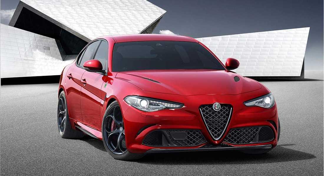 Alfa Romeo Giulia.