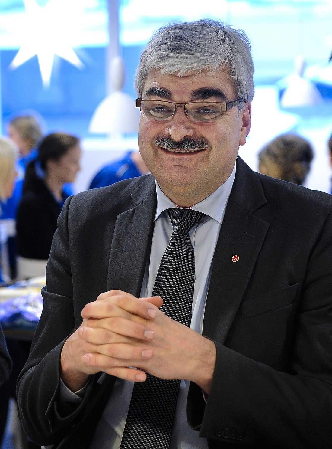 Håkan Juholt går på GI-diet under sin valturné.