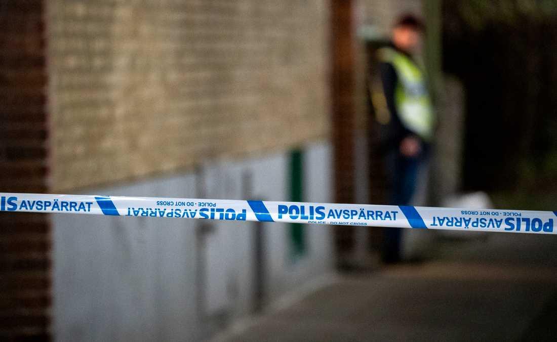 I december avled en kvinna i Eslöv efter att ha fallit från en balkong. En man är misstänkt för mord. Arkivbild.
