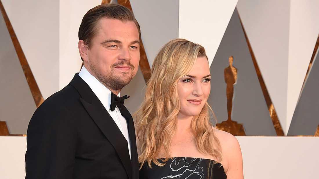 Leonardo DiCaprio och Kate Winslet.