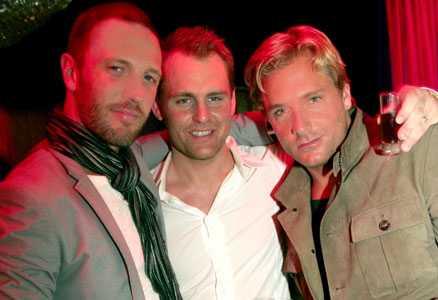 Hell's kitchen Martin Björk, Johannes Svärd och Niclas Rahm träffades ute i helgen.