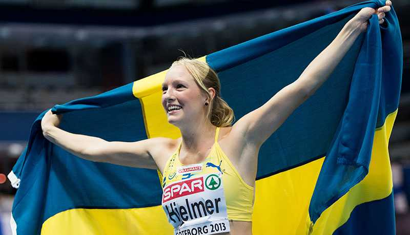 Hjelmer tog brons i inne-EM förra helgen.