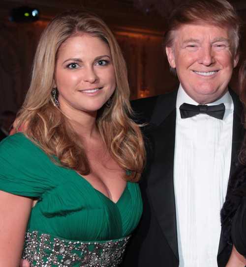 Trumps prinsessa Prinsessan Madeleine har fått en stor beundrare i megakändisen och fastighetsmagnaten Donald Trump.