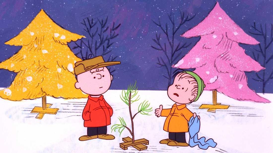 """Ur """"God jul, Snobben"""" som Lee Mendelson låg bakom."""