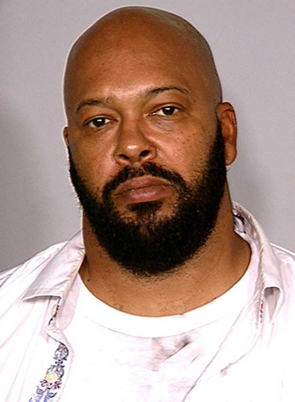 """Rapmogulen Marion """"Suge"""" Knight är misstänkt för mord, mordförsök och smitning."""