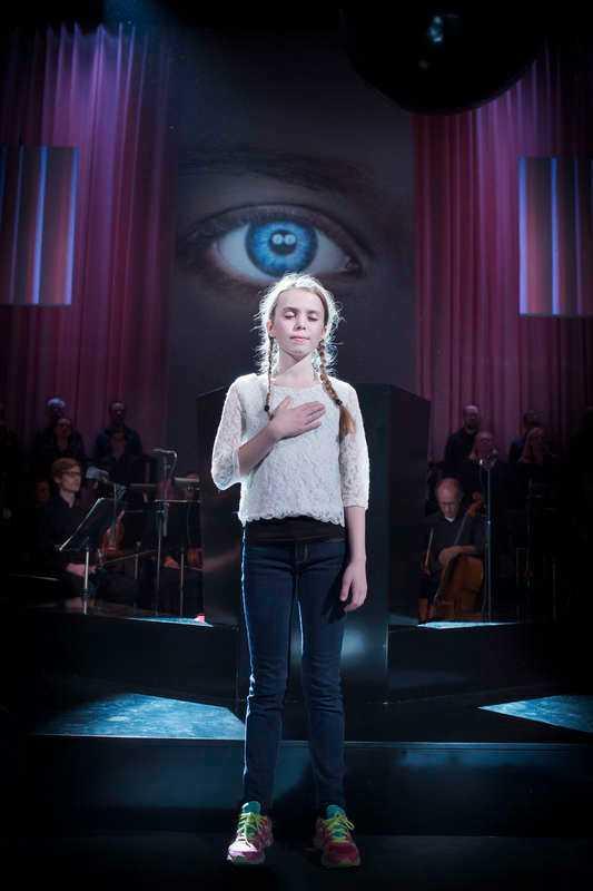 "Milla Norr i Mozarts ""Requiem""."