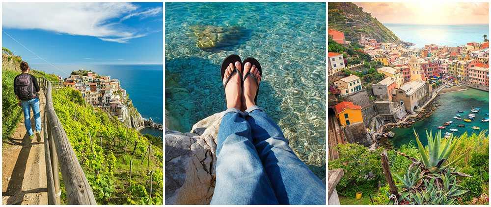 Nu blir det förbjudet att bära flippflopp i vissa delar av italienska Cinque Terre.