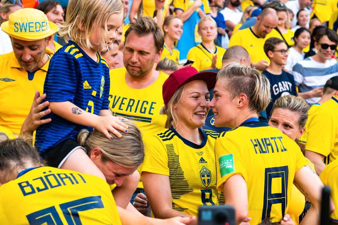 Lisa och Lina Hurtig under VM 2019.
