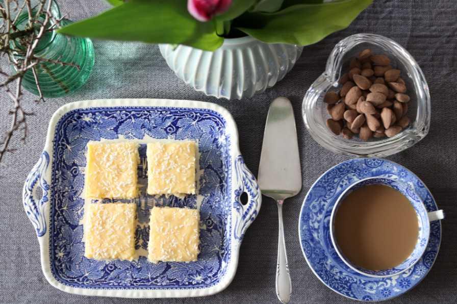 Silviakaka – enkel och snabb kaka med smörkräm.