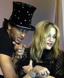 Madonna och Jesus, 28 års åldersskilnnad.