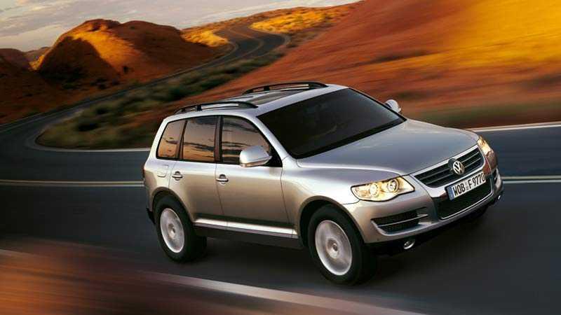 Touareg - VW:s första modell som förses med hybriddrift