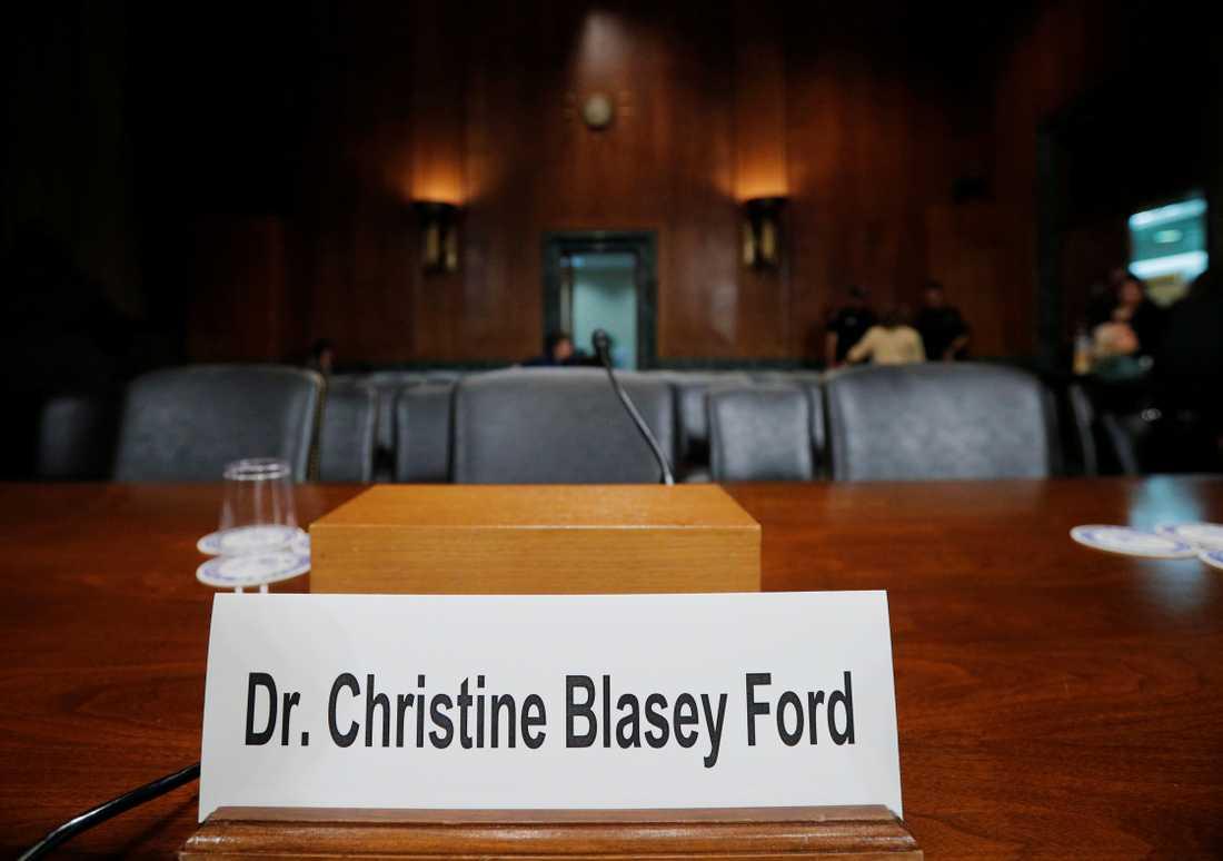 Christine Blasey Ford ska vittna mot Brett Kavanaugh