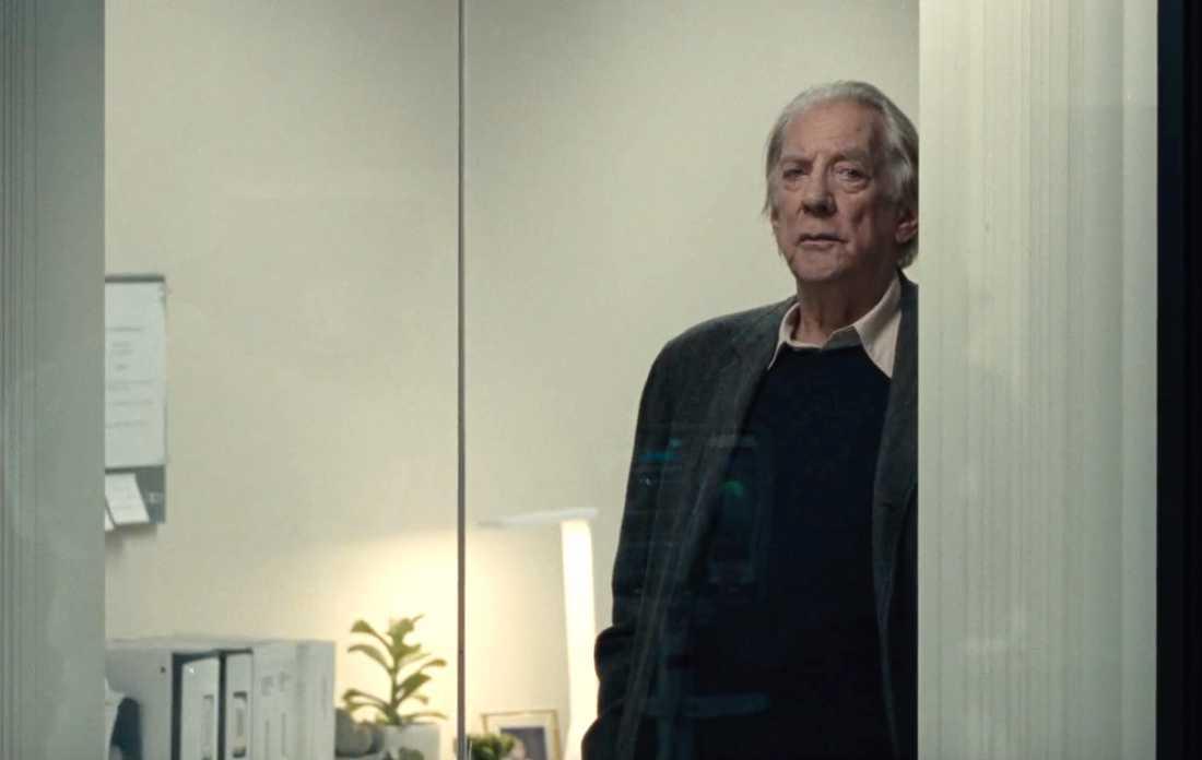 "Donald Sutherland i ""Ad astra""."
