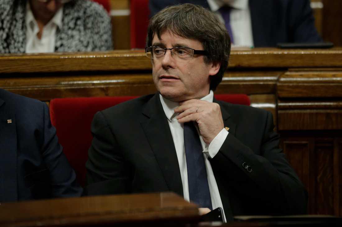 Kataloniens president Carles Puigdemont.