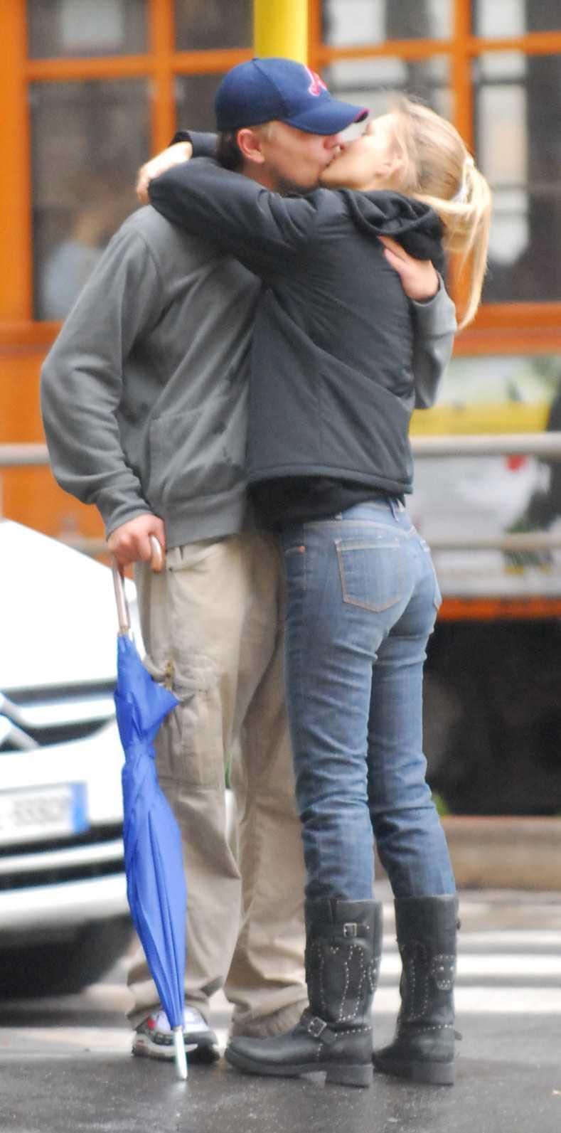 DiCaprio och Bar Refaeli.