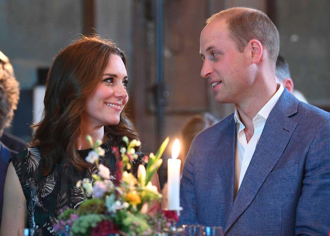 Prins Willian och Kate. Arkivbild.