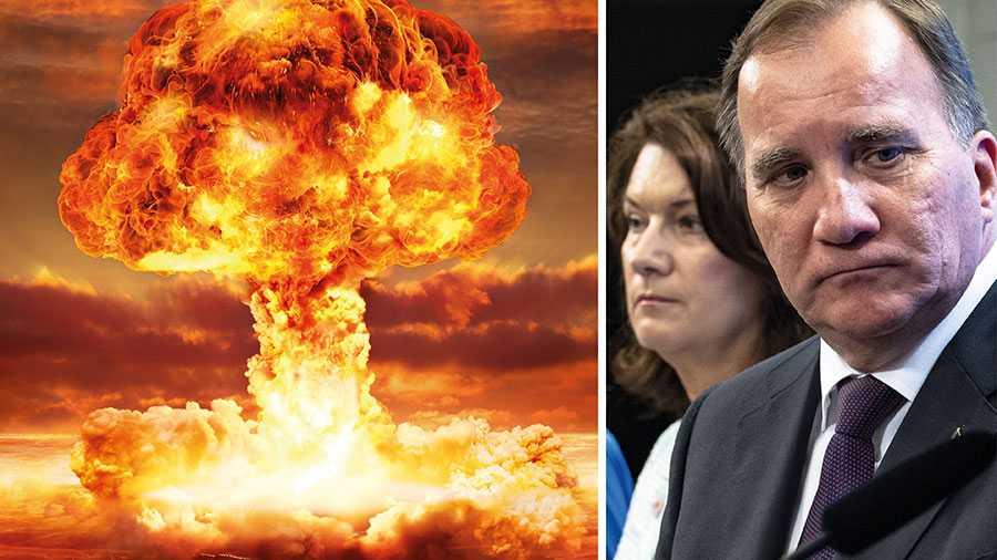 Nu återstår tre stater till de 50 som måste skriva under för att FN:s förbud mot kärnvapen ska träda i kraft. Sverige deltog i arbetet för konventionen i FN men vill nu, efter påstötning från USA, inte underteckna den. Regeringen måste tänka om, skriver debattörerna.