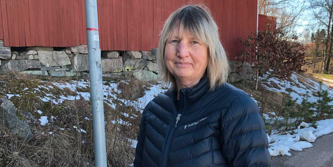 """Margareta, 58, fick blodproppar i benen dagar efter att hon vaccinerats med Astra Zenecas vaccin. """"Nu hoppas jag såklart att få en annan tillverkares vaccin till dos två""""."""