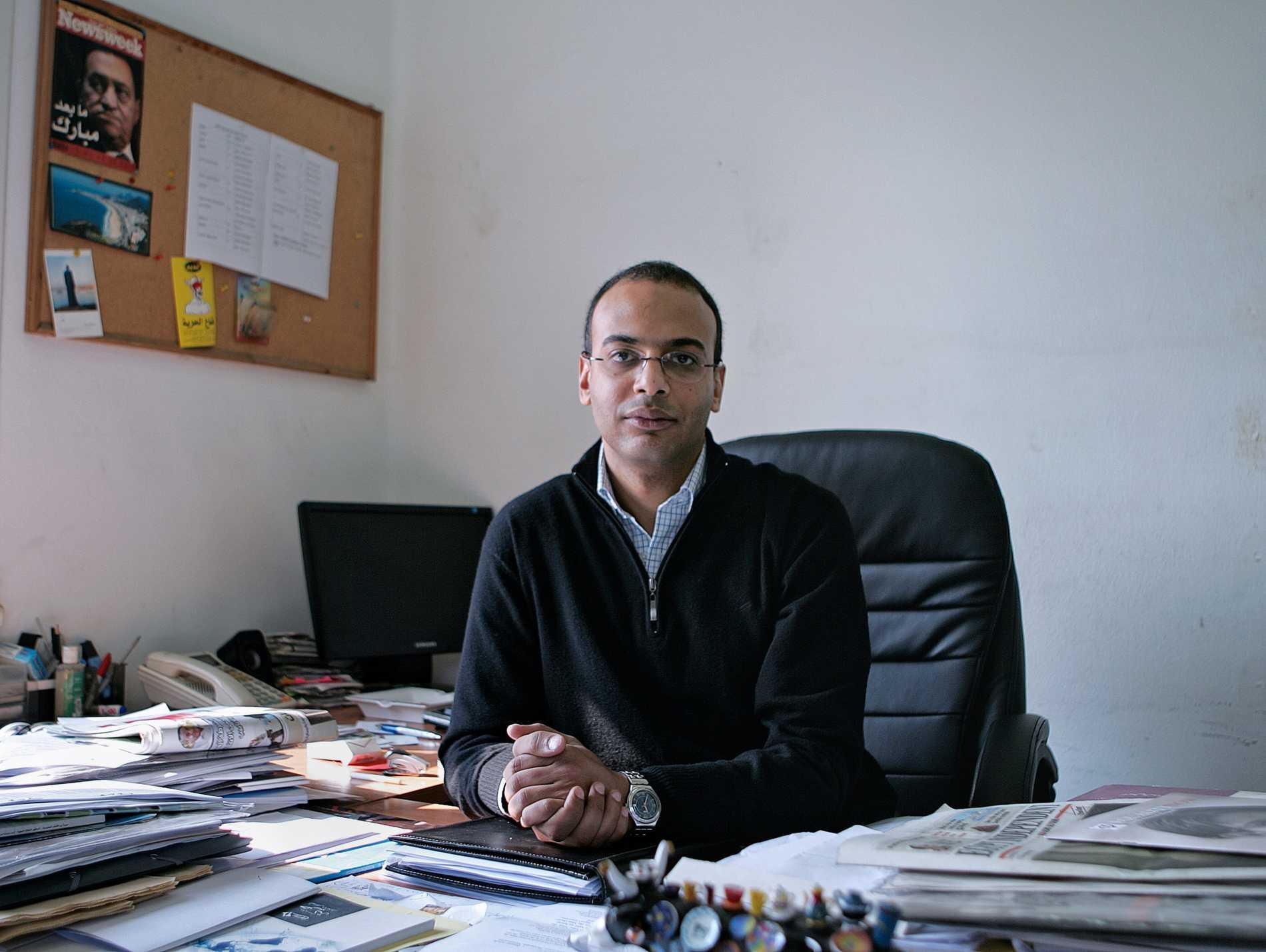 Hossam Bahgat. Arkivbild.