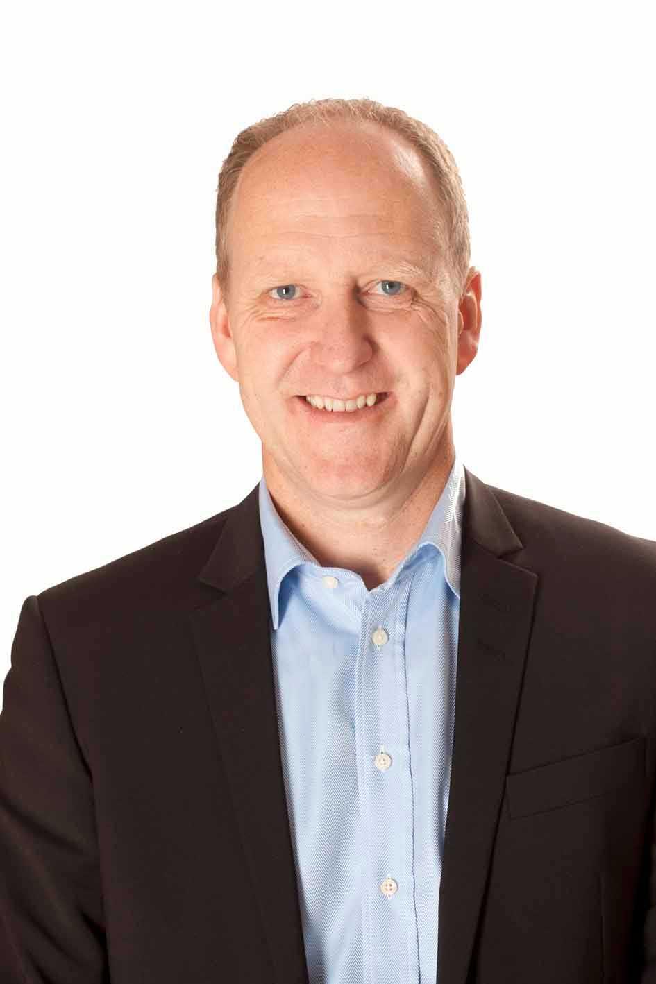 Tony Wiréhn, generalsekreterare för hockey-VM.