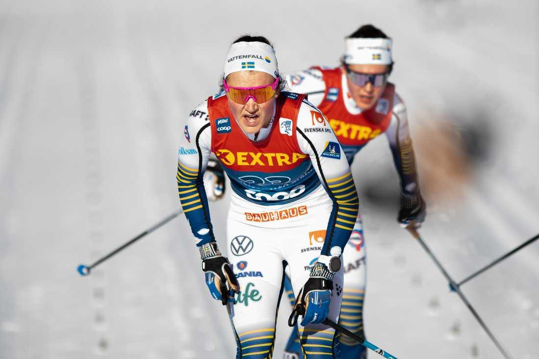Förkylning stoppar Lundgren.