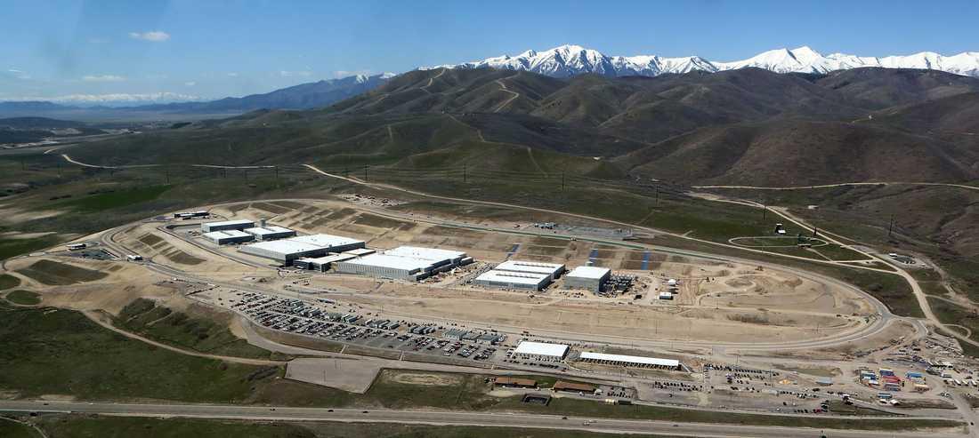 NSA:s anläggning i Bluffdale, Utah.
