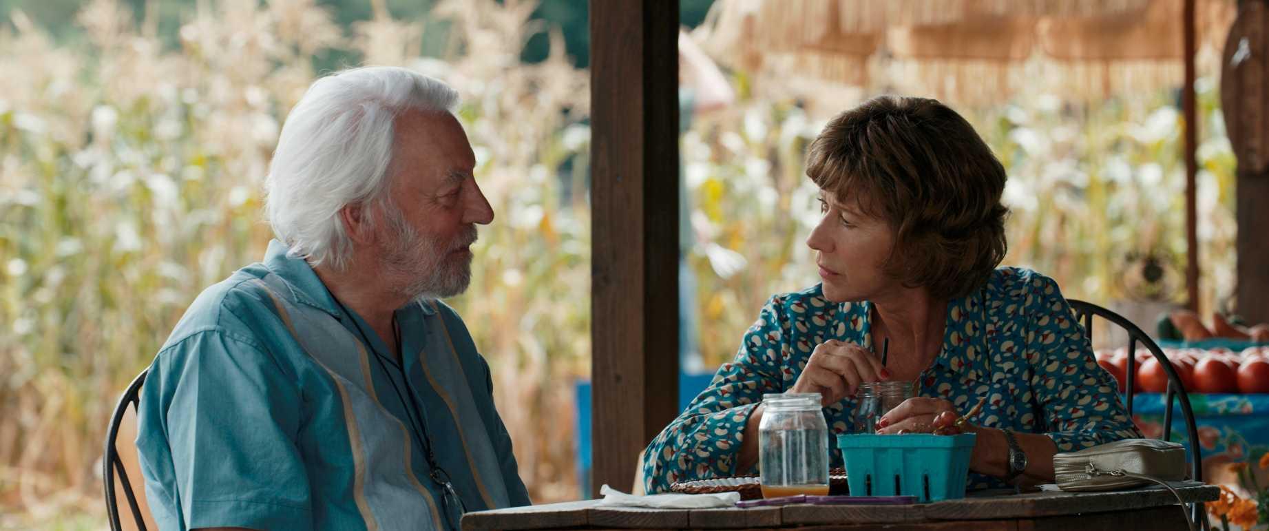 Donald Sutherland och Helen Mirren. Foto: Scanbox