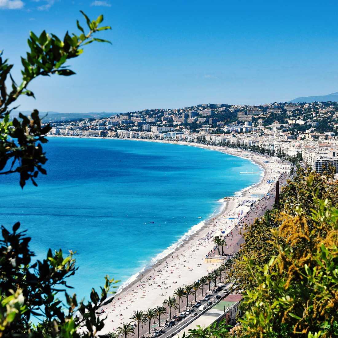 Utsikt över Nice.