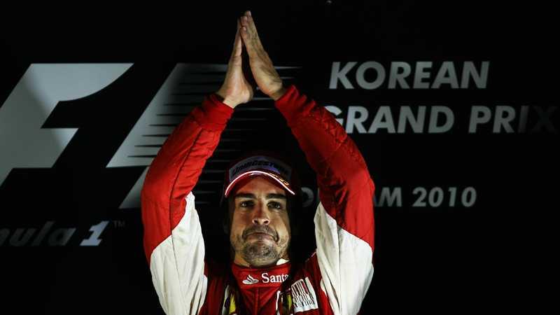 ÄR PÅ TOPP Fernando Alonso toppar VM efter Sydkoreas GP.