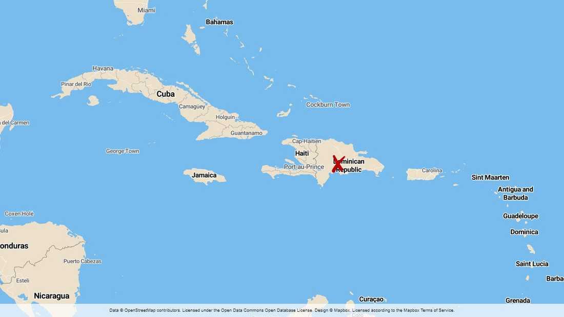 I bara fyra timmar pågick lokalvalet i Dominikanska republiken innan det fick avbrytas på grund av ett tekniskt fel i de elektroniska röstningsmaskinerna.