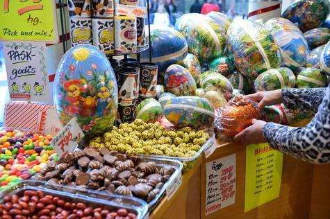 Påskgodis – sötsaker äts i rekordmängd
