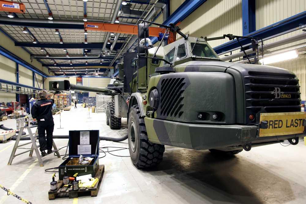 ARCHER konceptet är en vidareutveckling av den Bofors-tillverkade artilleripjäsen 15,5 cm haub 77B, där pjäsens överlavett monterats på en tung terrängvagn (dumper) från Volvo.