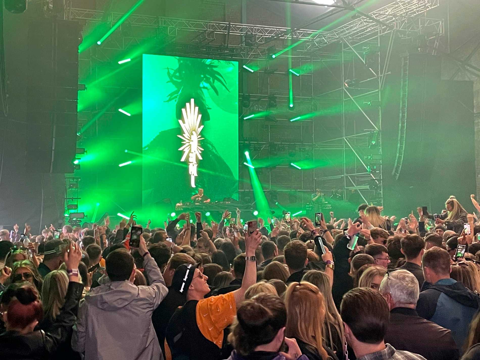 """Första livekonserten: """"Ganska surrealistiskt"""""""