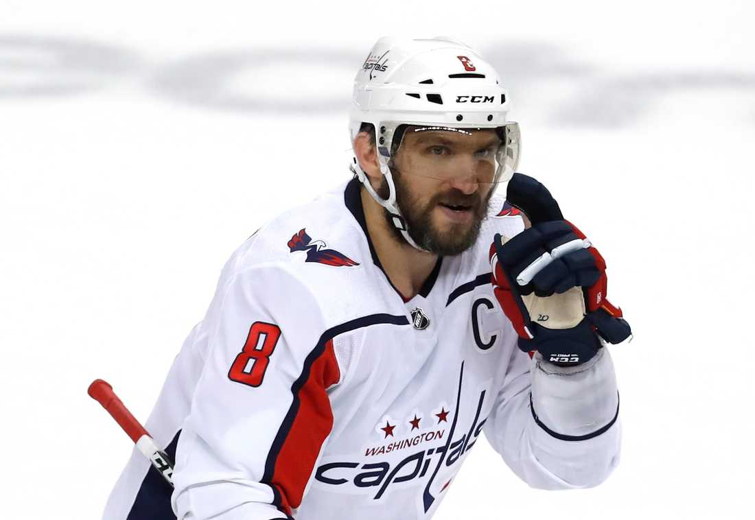 Ovetjkin hade ett mål och en assist i Caps kross.