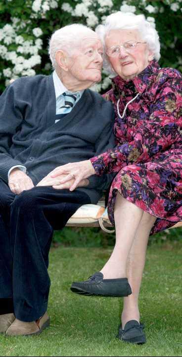 Percy & Florence firar 80 år tillsammans.