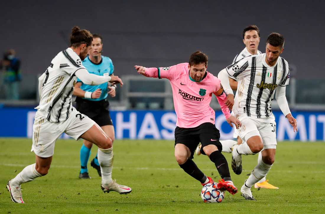 Lionel Messis Barcelona vann stormötet borta mot Juventus.